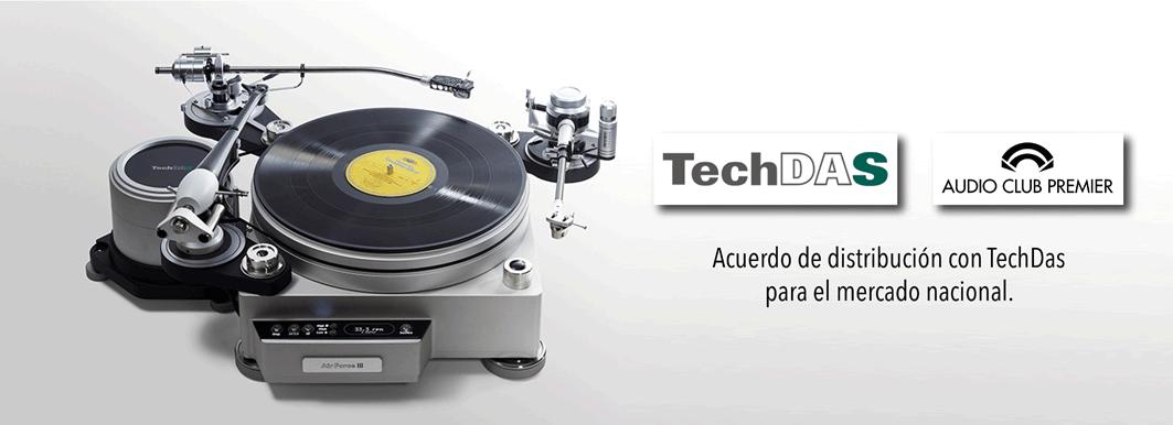 Audio Club Premier distribuye TECH DAS