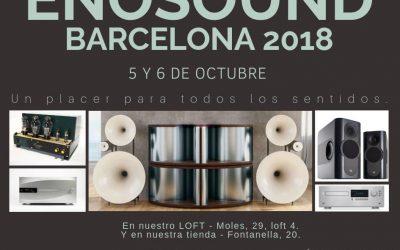 Evento Enosound Barcelona 2018